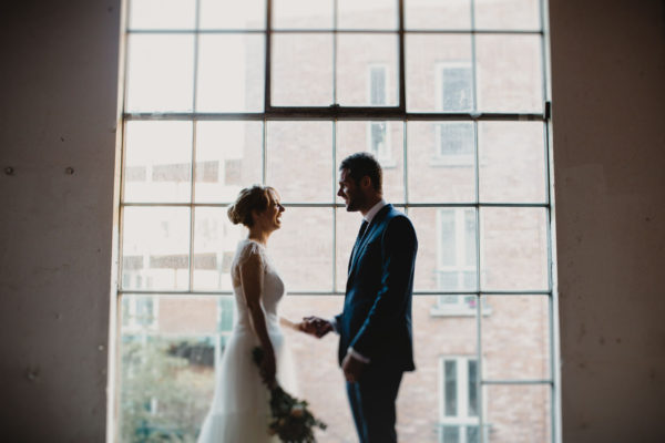 Industrial Wedding Dublin - The Chocolate Factory